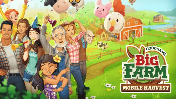 Big Farm Mobile Harvest на rusgamelife.ru