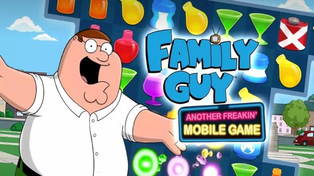 Family Guy Freakin Mobile Game на rusgamelife.ru