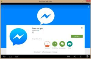 Установка Messenger через Bluestacks