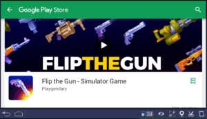 Установка Flip the Gun на ПК через BlueStacks