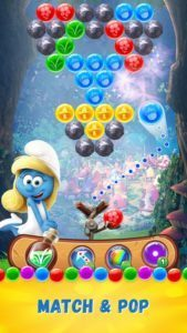 Smurfs Bubble Story на rusgamelife.ru