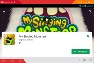 Установка My Singing Monsters на ПК через Droid4X