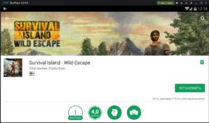 Скачать Survival Island на ПК через Nox App Player