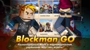 Blockman GO-01