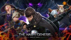 The War of Genesis Battle of Antaria-01