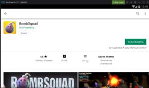 Установка BombSquad на ПК через Nox App Player